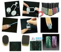 el arte de uñas diseño atraer a magnética gel de esmalte de uñas oem