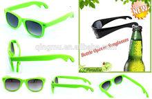 hot sale bottle opener sunglasses for promotional, free samples~