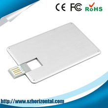 Best selling products 8GB 8G metal card usb flash drive, usb credit card best selling products
