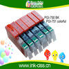 greencolor high quality CISS refillable ink cartridge for Canon refillable /PGI 750 CLI 751 for Canon PIXMA MG5470/MG6370