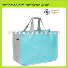 Eco-Friendly Large Market Grocery pvc Reusable shopping Bag