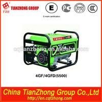 TZH home use 5kw sunshow gasoline generator cheap