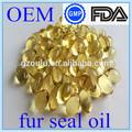500mg fur seal oil soft capsules for men care