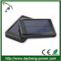 15000mAH Micro usb solar charger case for ipad mini iphone 5V 2A