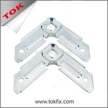 Hvac System parts zinc coating duct corner