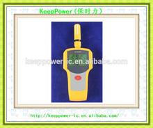 Caliente venta AH8002 mano temperatura y humedad indicador / termómetro Digital / alta precisión la temperatura y la humedad