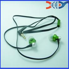 Fashion flat cable earphone or nokia n8 Metal OEM