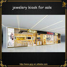 professional jewelry display case made from wood with veneer sheet
