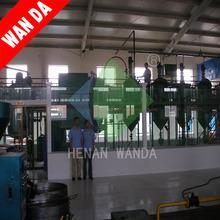 wanda cooking crude Oil Refiner equipment/,machine for palm
