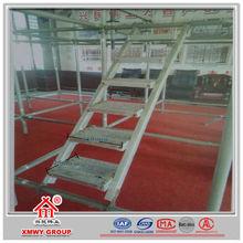 Aluminum scaffolding catwalk plank for construction