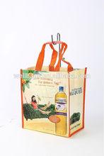2014 Clear Plastic Wine Bottle Bags