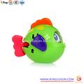 promoção de venda quente do bebê de plástico peixes brinquedos modelo