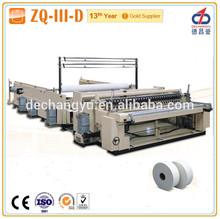 ZQ-III-D jumbo tissue paper roll making machine (Industrial roll slitting rewinder)