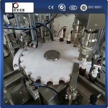 CE standard automatic nail polish bottle filling machine