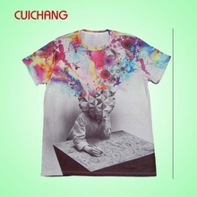 2014 popular t shirts for sublimation printing