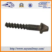 High quality SUYU railway screw spike direct manufacturer