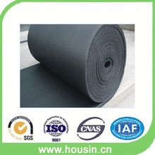fireproof rubber foam closed cell roll for flexible duct