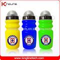Qualquer cor de plástico garrafa de água desportiva, platico frasco do esporte, 600ml esportes garrafa de água maker( kl- 6637)