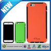 C&T New style back 2 in 1 tpu pc hybrid combo case for iphone 6