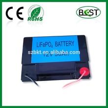 LiFePO4 battery pack 12V 50Ah for power supply