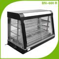 Buffet de comida quente mostrar vitrine de padaria bn-600 r