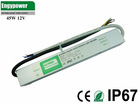 waterproof 45W 12V LED power driver