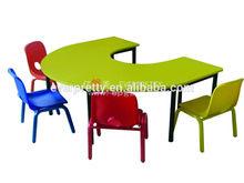 2014 New Design Ergonomic Kids Study Table, Wooden Study Table Designs, Design of Study Table