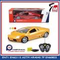 Brinquedos yaleming 1:12 escala 4ch recarregável carro de brinquedo