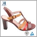 2014 красочные высокий каблук дешевые оптовые женская обувь