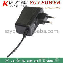 12V1A Power adapter with KC/RoHS/FCC/UL/GS/S-mark/CCC/CE for cctv camera for Ipad for LED