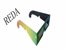 gradient ramp high-tech art OEM/ODM service cheap high quality 3d paper linear polarized glasses made in China