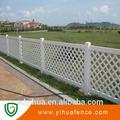 Yihua PVC cerca del jardín / jardín valla de plástico