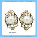Elegante semental pendientes de perlas para las damas proveedor