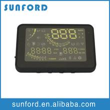 DC 12V Voltage digital hud speed display