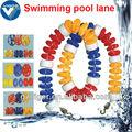 Proveedores de la fábrica de la piscina de natación de espuma equipo piscina flota/líneas de carril