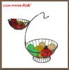Special rack chrome plating metal fruit basket