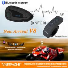Waterproof motorcycle radio Helmet audio intercom system