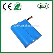 3.2V LiFePO4 battery pack 4Ah for backup