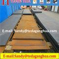 La máquina trituradora de acero de alto manganeso placa mn13 x120mn12 1.3401 din