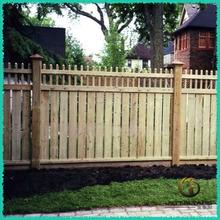 Cedar wood fence panel for garden
