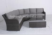 Handcraft PE rattan garden furniture/wicker outdoor furniture