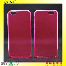 Wholesale Muti-Colors Soft TPU Case Cover without texture for 6G