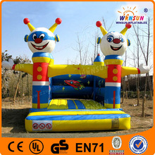 Inflatable Castle Bounce , Kids Inflatable Bounce Bed , space bouncer inflatable