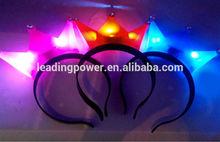 led hair light, flashing head bopper , led hair band