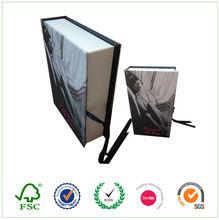 Fabric birthday 5x7 cardboard paper gift box