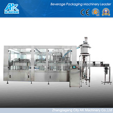 Hot Sale! AK-MACHINE RGF Washing Filling Capping Machine For Juice,Tea