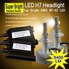 Best headlight 70W 6400lm Sealed beam H7 LED car headlight bulbs, MT-G2 LED