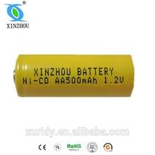 remote control car batteries nickel-cadmium batteries 1.2v 500mah