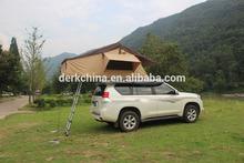 Unique design 280g canvas hard top roof tent