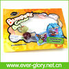 Colored Kids Toy Packaging Tree Side Sealed Plastic Toy Bag